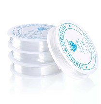 10m/roll Transparent Stretch Elastic String ForJewellery Making 0,5/06/0... - $3.22