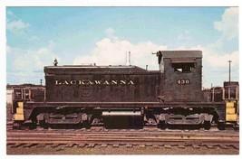 Lackawanna Railroad Train 430 Switcher Unit postcard - $5.45