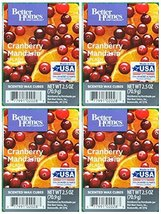 Better Homes and Gardens Cranberry Mandarin Splash Scented Wax Cubes - 4-Pack - $17.84