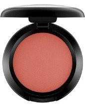 MAC Powder Blush Fard a Joues BURNT PEPPER Tangerine .21oz / 6 g NIB - $23.76