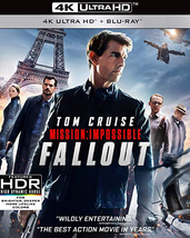 Mission: Impossible - Fallout [4K Ultra HD + Blu-ray]