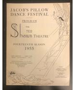 jacob's pillow dance festival, 1955 - $11.88