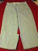 Boys New Size 20 Regular Arizona premium denim jeans khaki loose - $19.29