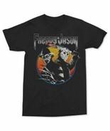Freddy Jason Nightmare Elm Street Halloween Horror Movie Shirt Black Sla... - $14.80