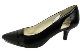 Anne Klein First class women's women's black out low kitten heels pumps ... - $30.58