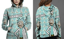 Rick Get Out Of My Phone Hoodie Fullprint  For Women - $43.99+
