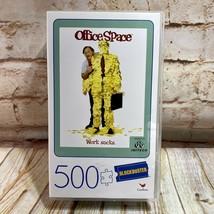 NEW Office Space WORK SUCKS Blockbuster 500 Piece Jigsaw Puzzle VHS Plas... - $11.87