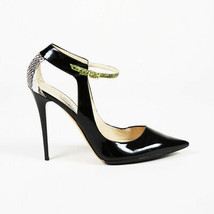 Jimmy Choo Patent Leather Snakeskin Pointed Pumps SZ 41.5 - $260.00