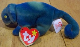 "TY Teenie Beanie Baby IGGY THE IGUANA 6""Plush STUFFED ANIMAL Toy NEW - $15.35"