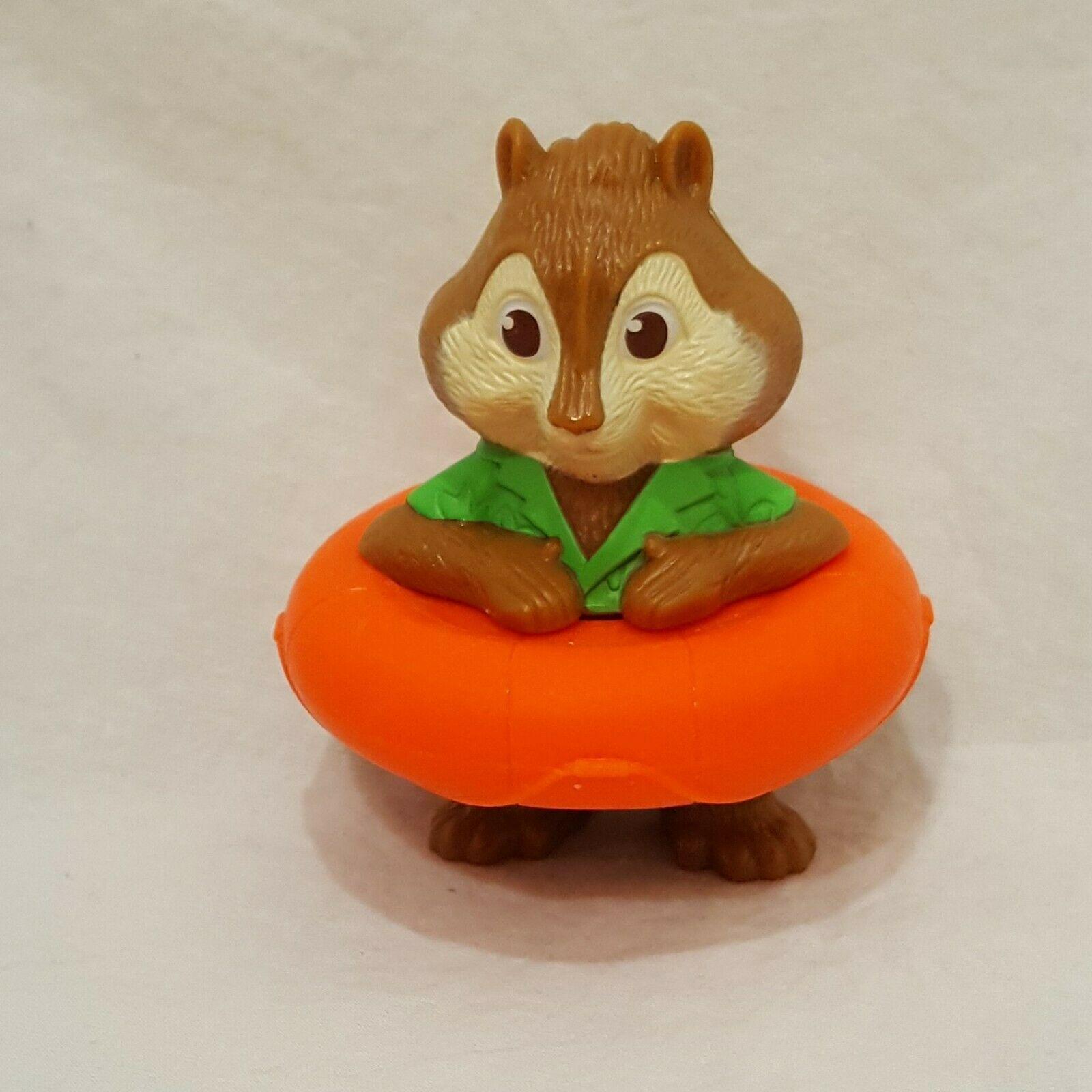 "Theodore Toy Figurine Alvin & Chipmunks 3 Chipwrecked Loose McDonalds 2011 3"""
