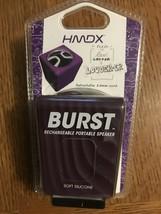 HMDX Burst Portable Rechargeable Speaker, HX-P130PU (Purple) Purple-Brand New