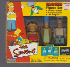 Blocko - The Simpsons - LISA HOMER & MARGE in Box - $15.01