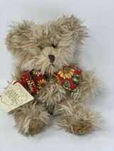 Russ Berrie Bears From The Past Radcliffe Bear Stuffed Animal Sunflower ... - $11.69