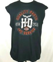 HARLEY DAVIDSON Mens XL Charcoal Gray Sturgis South Dakota Sleeveless T-... - $19.78