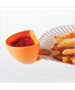 Dipzy Clips Dipping Sauce Holders Food Ketchup BBQ Blue Ranch Dressing C... - $8.59
