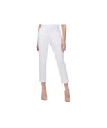 Tommy Hilfiger Women's Slim Leg Cropped Dress Pants (White, 12) - $88.11