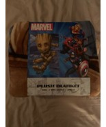 "Disney Marvel Guardians of the Galaxy Groot Plush Blanket 60 X 90"" New - $35.00"