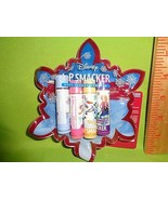 LIP SMACKER 4pc lip Balm gloss with collectible Zipper Pouch Disney Froz... - $8.90