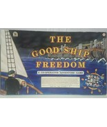 The Good Ship Freedom Cooperative Board Game Family Pastimes Adventure U... - $29.09