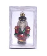 "Kurt Adler Medallion Collection Blown Glass Ornament - 4"" Nutcracker C1657 - $12.59"