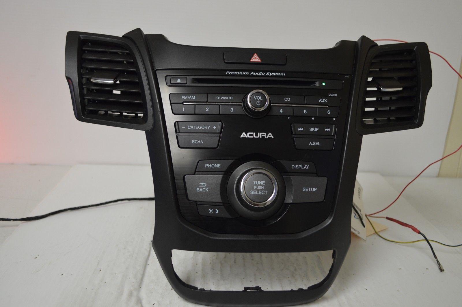 Acura Radio (2010s): 8 listings on sirrus radio, sirius radio, slacker radio, vivid radio, siriusxm radio, sat radio, sam roberts radio, sirrius radio, top gold radio,