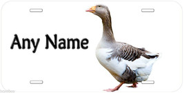 Goose Personalized Novelty Aluminum Car License Plate P03 - $14.95