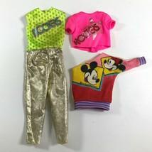 VTG 1985 Barbie & the Rockers Mattel Clothes Barbie Disney Off-Shoulder Sweater - $18.98