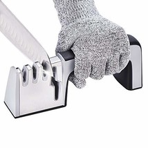 Professional Kitchen Knife Sharpener, 4-Slot Sharpening Tool for Straight - $24.09