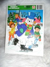EUC Vintage Frosty The Snowman Tray Puzzle - $15.66