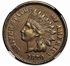 1871 Indian Head, Copper, One Cent, in nice shape, Low price, and Fast s... - $2.88