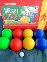 Vintage Regent Lawn Bowling Bocce Ball l Outdoor Game 60100 FREE SHIPPING - $37.95