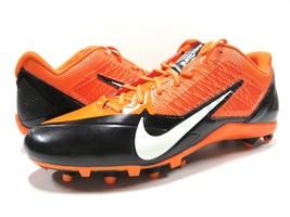 NIKE NFL Cincinnati Bengals Adult Men's Size 16 Orange Football Cleats NWT - £39.07 GBP