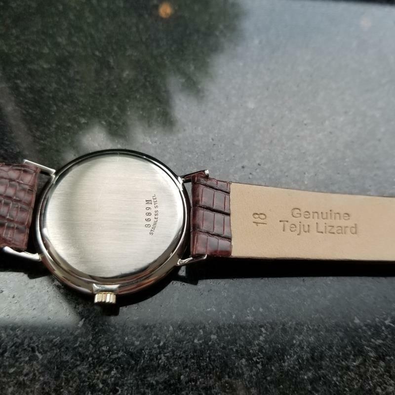 GIRARD-PERREGAUX Gold-Capped Men's Manual Hand-Wind Dress Watch c.1960s MS212 image 6
