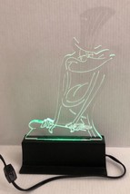 Warner Bros Michigan J Frog 13.5 Inch Acrylic Light Sculpture By Buzzy Trusiani - $128.69