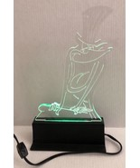 Warner Bros MICHIGAN J FROG 13.5 inch acrylic light sculpture by BUZZY T... - $128.69