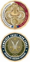 "AL UDEID AIR FORCE BASE QATAR OPERATION INHERENT RESOLVE 1.75"" CHALLENGE... - $18.04"