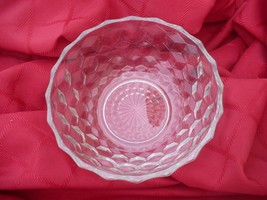 "Vintage Clear 6"" Glass Bowl  Unknown Maker (Fostoria?) - $3.95"
