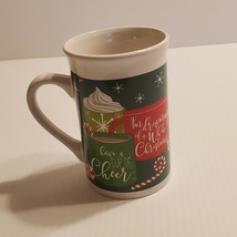 Royal Norfolk Christmas Ceramic Coffee Mugs Tea cup Have a cup of cheer - $8.00