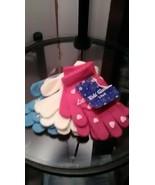 3 PK Winter Girls Children Gloves Set - $8.99