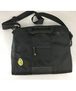 "Timbuk2 15"" Laptop Tablet Black Nylon Padded Shoulder Bag Case - $44.10"