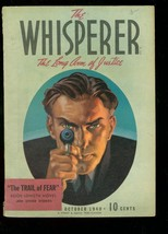 Whisperer Oct 1940 Street Smith Trail Of Fear #1 Pulp Fn - $363.75