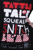 Iron Fist Women's Black Squealer Tattle Tale Snitch Blab Talk Boyfriend T-Shirt image 2