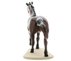 "Hagen-Renaker Miniature Ceramic Horse Figurine Thoroughbred ""Seabiscuit"" image 6"