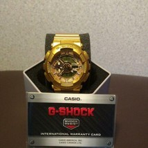 CASIO G-SHOCK VIOLETTE collaboration all gold limited Rare used - $886.04