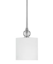Quoizel Downtown (Rozella) One-Light Polished Chrome Pendant - DW1506C - $135.00