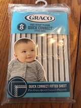 Graco Pack N Play Playard Quick Connect fitted sheet Raleigh Ships N 24h - $25.20