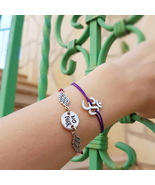 Om bracelet, yoga bracelet, yoga jewelry, om charm, meditation bracelet,... - $29.00