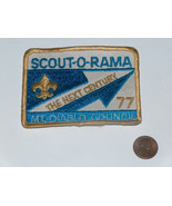 BSA Boy Scout of America 1977 Scout-O-Rama The Next Century Patch Mt Dia... - $9.88