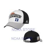 DUKE BLUE DEVILS ADIDAS NCAA BASKETBALL FINAL FOUR CHAMPS MEN'S CAP HAT ... - $15.83