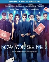 Now You See Me 2 (Blu Ray/DVD W/Digital Hd)